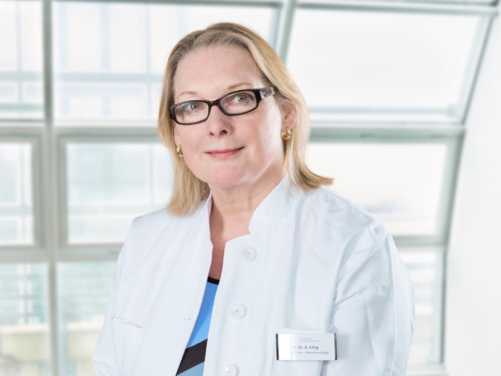 Fachärztin für Innere Medizin und Hämostaseologie Hamburg