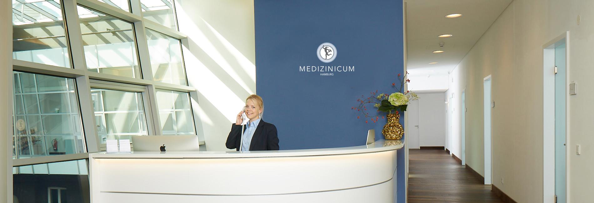 Medizinicum-Innen-Empfang