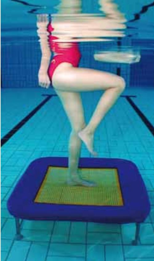 Aqua Bouncing
