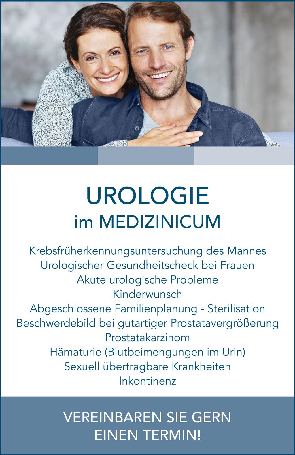 Urologie PopUp Hinweis - MEDIZINICUM Hamburg